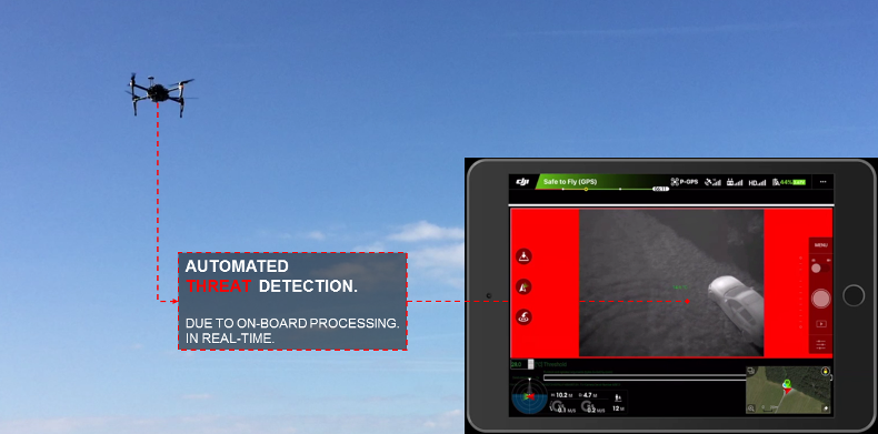 Powerful: Thermal Vision combined with Intelligent Algorithms.