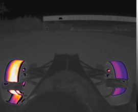 Tire warming strategies using Thermal Imaging Technology
