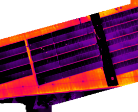 Solar Inspection – Radiometric Stitching