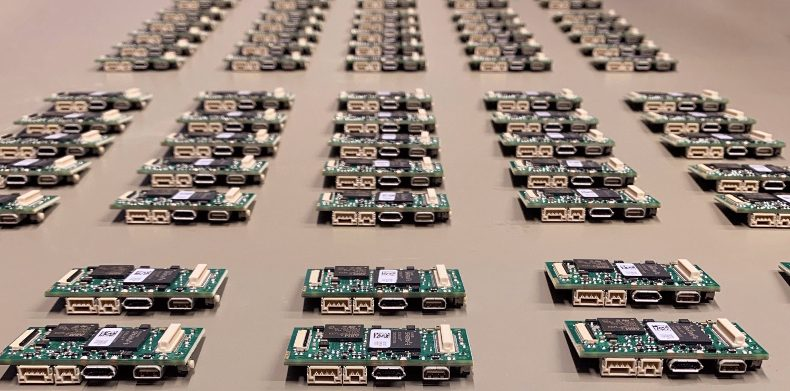 100x ThermalCapture X PCBs, ready for final assembly